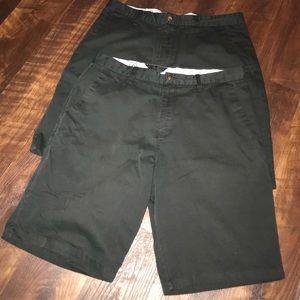 2 New Volcom Black Shorts